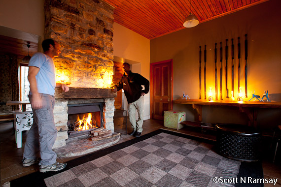 Table Mountain National Park - South Africa - Inside Overseers Cottage on Table Mtn