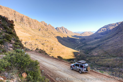 The view of the Uitkyk Pass - Cederberg