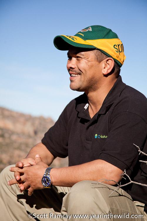 Patrick Hanekom, Nature Conservator of CapeNature - Cederberg - South Africa
