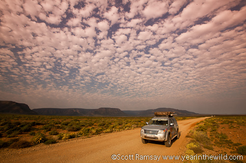 Long roads, big skies and a trusty Ford Everest!