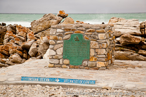 Cape Agulhas, Southermost Tip of Africa