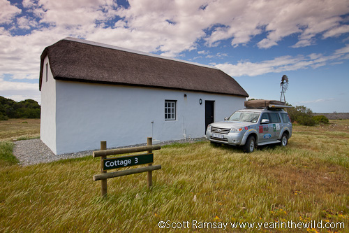 Renosterkop cottages in Agulhas National Park...