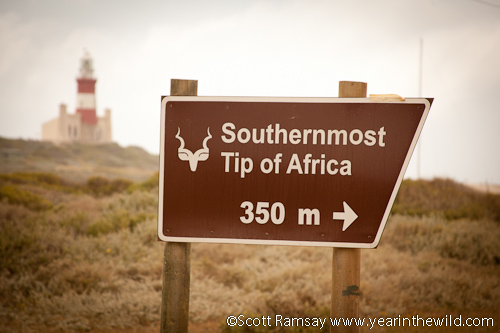 Agulhas, Southernmost tip of Africa