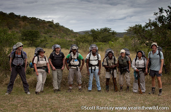 Imfolozi Wilderness Trail Group