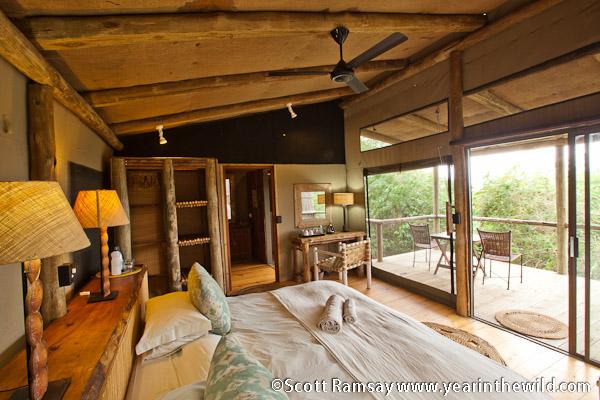 Rocktail Beach Camp - Bedroom