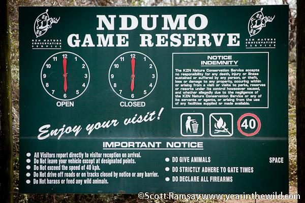Ndumu Game Reserve