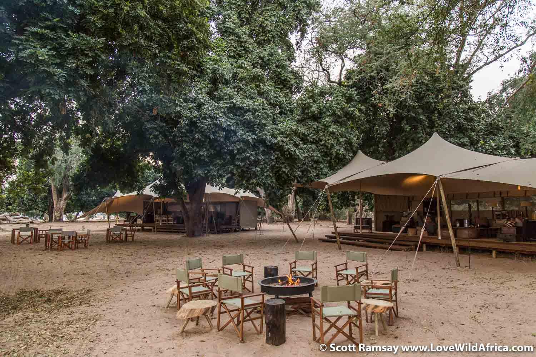 The new Little Ruckomechi camp in Mana Pools