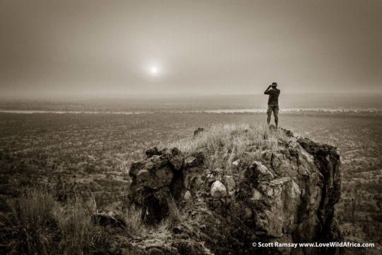 On top of Chilojo Cliffs - Gonarezhou National Park - Zimbabwe