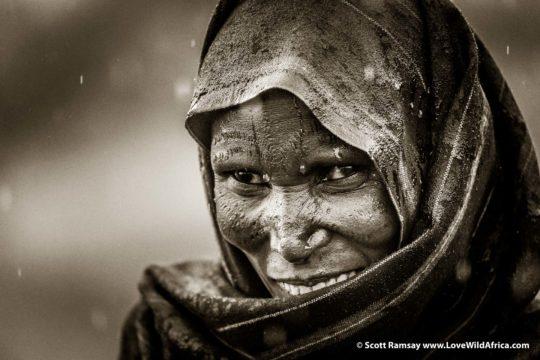 Datoga woman - Mwiba - Tanzania