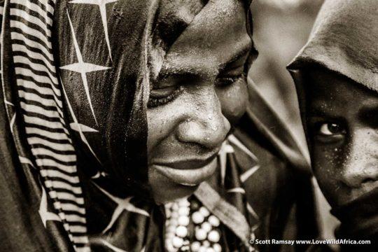 Datoga girls - Mwiba - Tanzania
