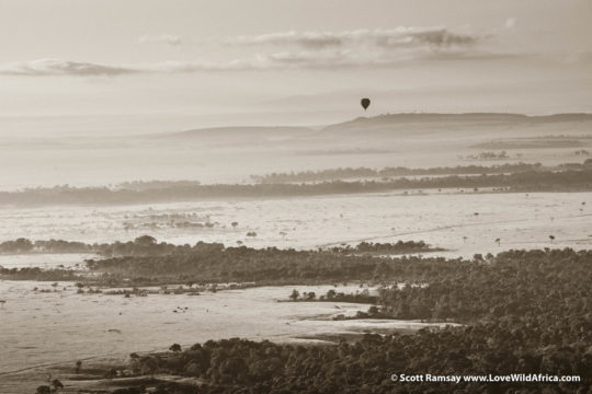 Hot air balloon - Maasai Mara - Kenya