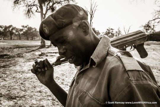 Ranger-Tendai Sanyamahwe - Mana Pools National Park - Zimbabwe