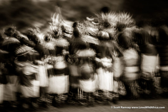 Samburu warriors - Samburuland - Kenya