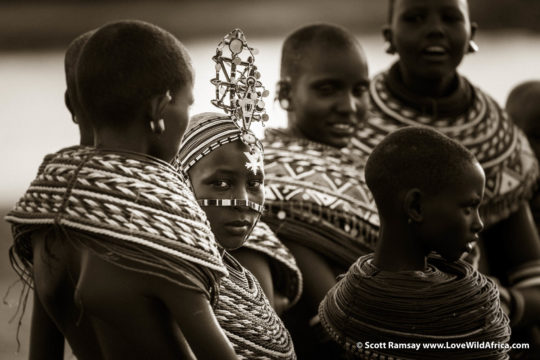 Samburu girls - Samburuland - Kenya