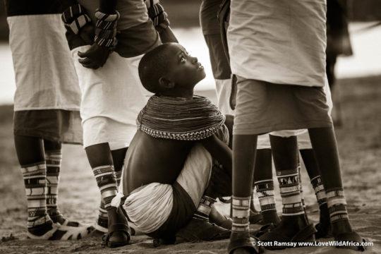 Samburu girl - Samburuland - Kenya