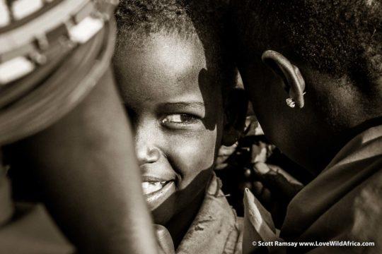 Samburu children - Samburuland - Kenya