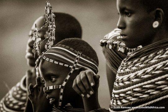 Samburu women - Samburuland - Kenya