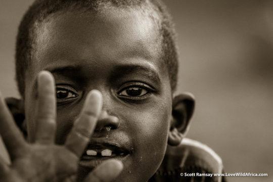 Samburu child - Samburuland - Kenya