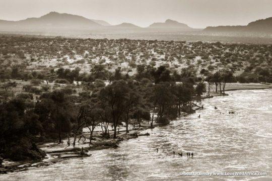 Ewaso Ngiro River - Samburuland - Kenya