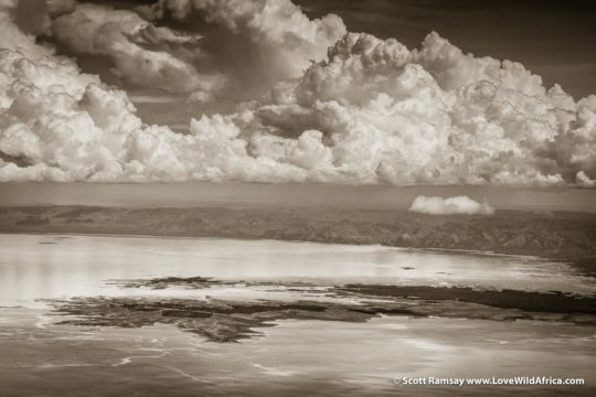Thunder clouds over Lake Kariba - Zimbabwe