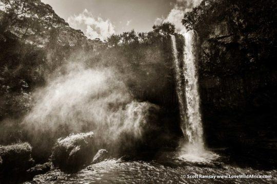 Waterfall - Aberdares National Park - Kenya