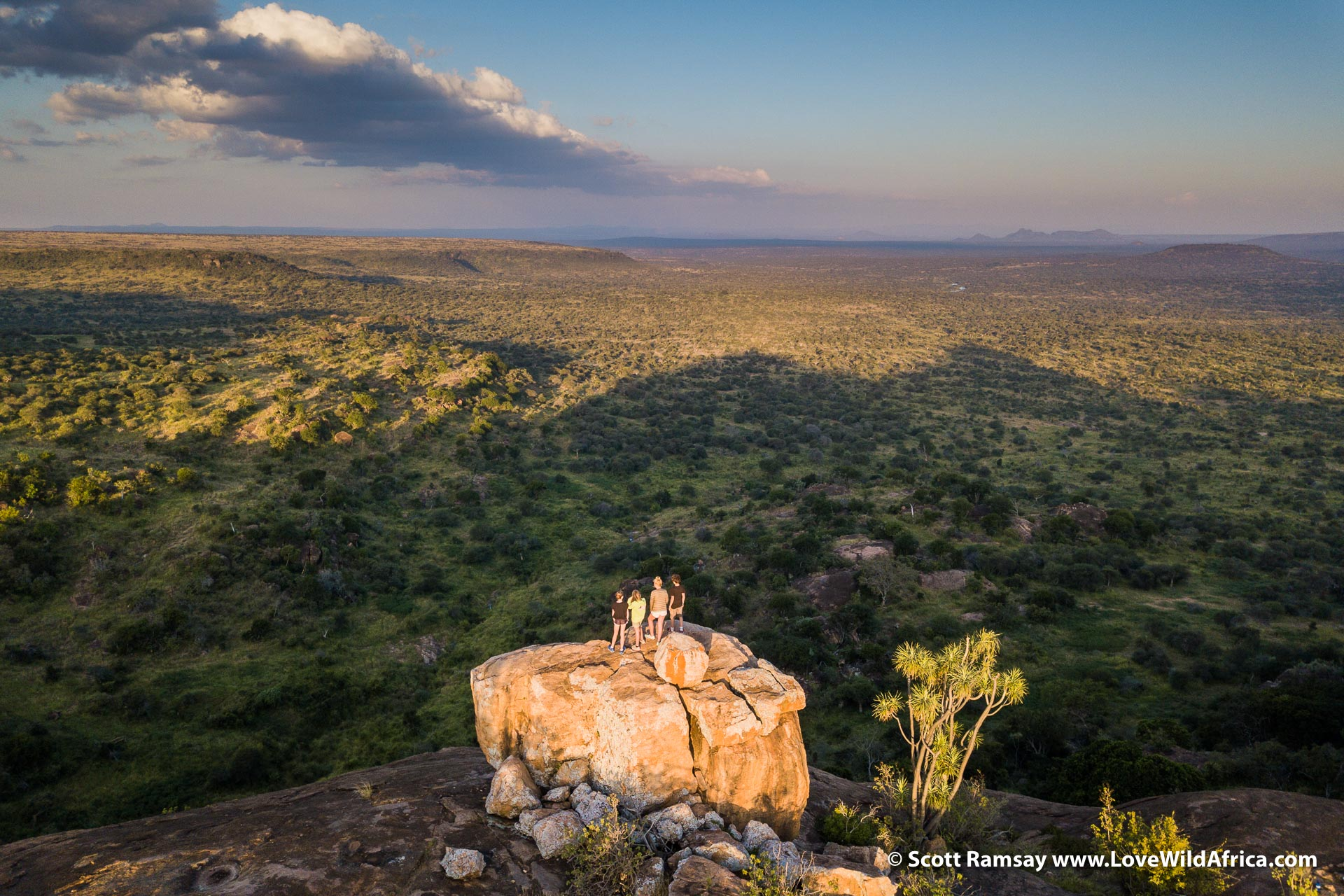 Laikipia is full of fantastic geology, and makes for great walking